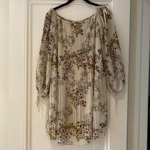 Aritzia Wilfred Floral Dress size small